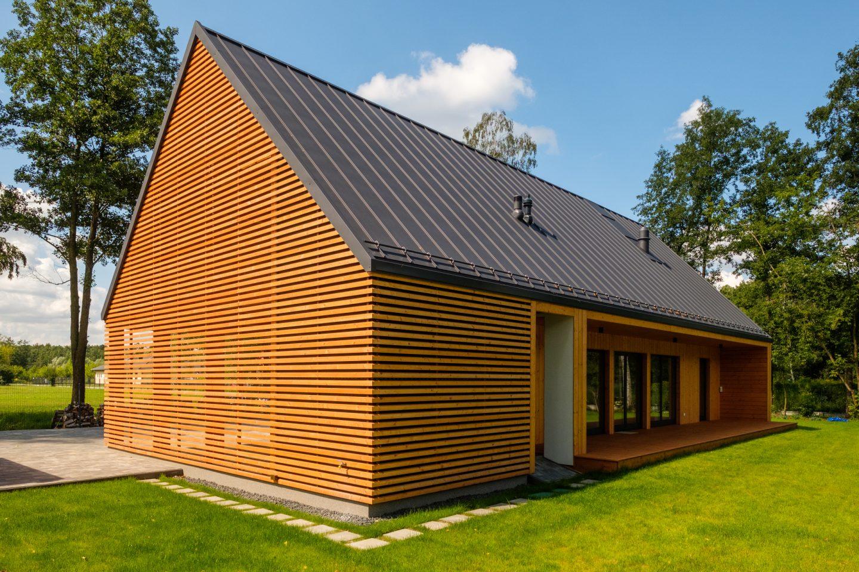 Drewniany dom modułowy